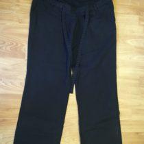 Těhotenské, lněné kalhoty BPC