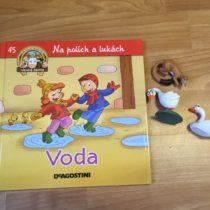 Dětská kniha ze série Hraj si a uč se – Na polích a lukách – Voda