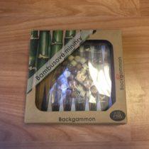 Bambusová minihra Backgammon