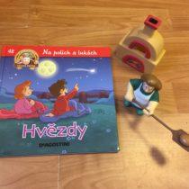 Dětská kniha ze série Hraj si a uč se – Na polích a lukách – Hvězdy