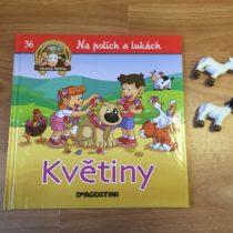 Dětská kniha ze série Hraj si a uč se – Na polích a lukách – Květiny