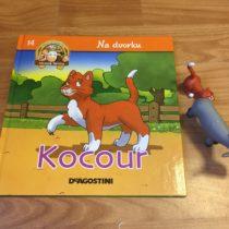 Dětská kniha ze série Hraj si a uč se – Na dvorku – Kocour