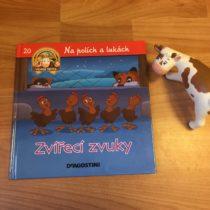 Dětská kniha ze série Hraj si a uč se – Na polích a lukách – Zvířecí zvuky