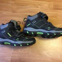 Zimní kotníčkové boty