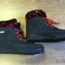 Vyteplené zimní boty Novesta