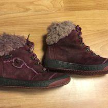 Vyteplené, kotníčkové boty Rich