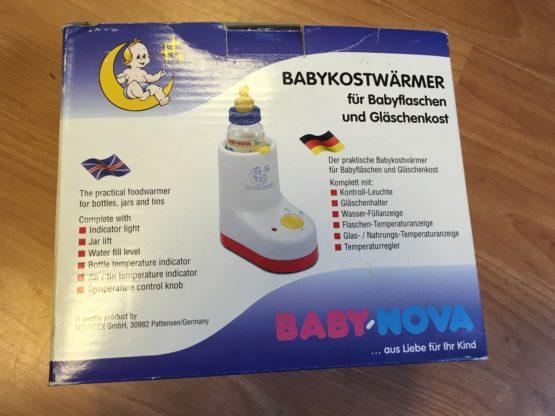 Ohřívač kojeneckých lahví Baby Nova