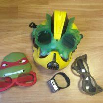 Set – maska + 2x brýle + hodinky