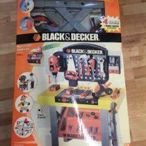 Ponk + nářadí Smoby dětská pracovní dílna Black&Decker