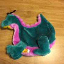 Plyšová kapsa Dinosaurus