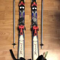 SET – lyže, hůlky, lyžařské boty