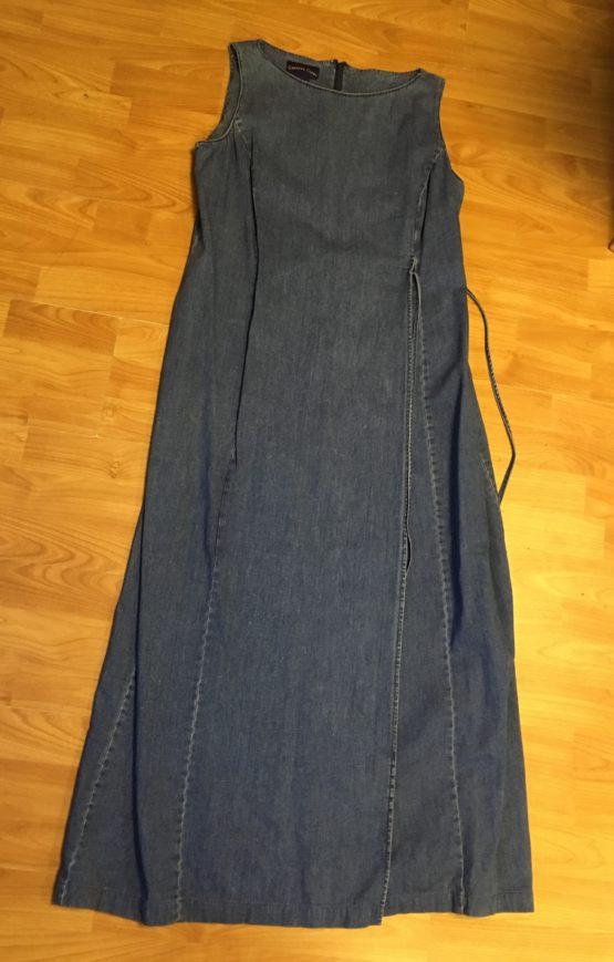 Těhotenské, džínové šaty