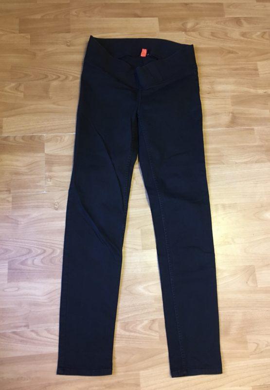 Těhotenské, elastické kalhoty H&M