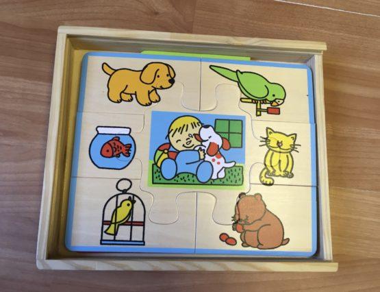 Dřevěné puzzle