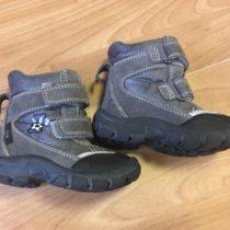 Zimní, kožené boty Bubble gummers