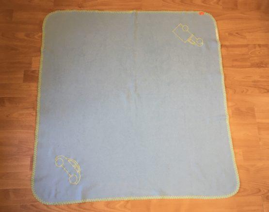 Fleeceová deka do kočárku – Auto