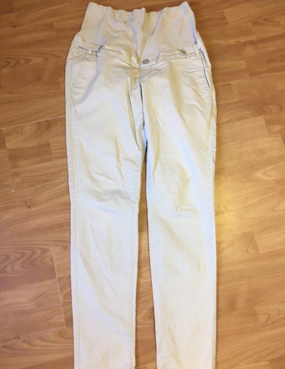 Těhotenské, plátěné kalhoty H&M