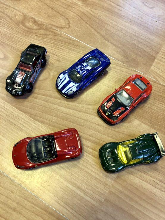 Set autíček Hot Wheels