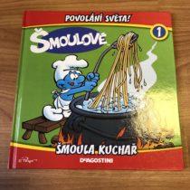 Kniha Šmoulové – šmoula kuchař