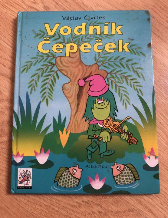 Kniha Vodník Čepeček