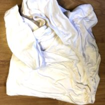 Prostěradlo bílé