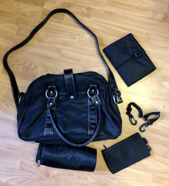Přebalovací taška Lassig černá