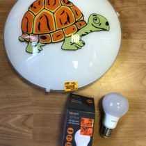 Nástěnné světlo Toplight + LED žárovka