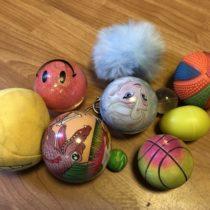 Set míčků a hopíků