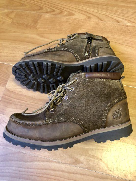 Boty kožené Timberland