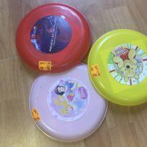 Set létejících talířů 3ks