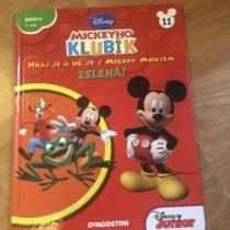 Kniha – Mickeyho klubík č. 11 – ZELENÁ