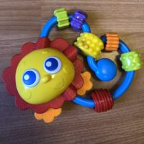 Chrastítko Playgro- Kytička