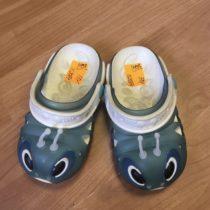 Plastové pantofle – Housenka