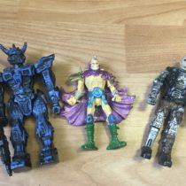 Set postaviček robotů