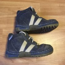 Kožené boty Pregres