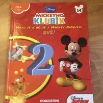 Kniha – Mickeyho klubík č. 14 – DVĚ