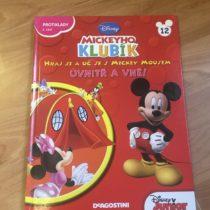 Kniha – Mickeyho klubík č. 12 – UVNITŘ A VNĚ