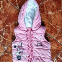 Dívčí, látková vesta Minnie