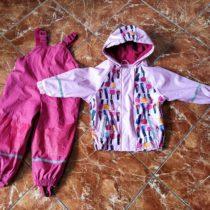 Dívčí nepromokavý set bunda+kalhoty LUPILU