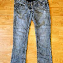 Těhotenské džínové kalhoty C&A