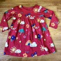 Bavlněné, letní šaty F&F smotýlky