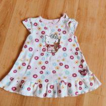 Bavlněné, letní šaty Hello Kitty