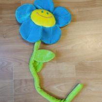 Hrající, plyšová květina