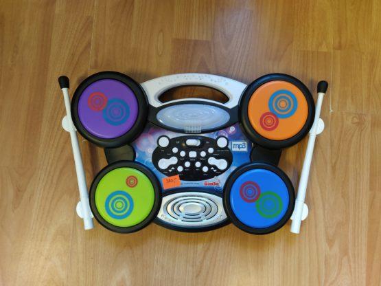 Elektronické bubny i pro MP3