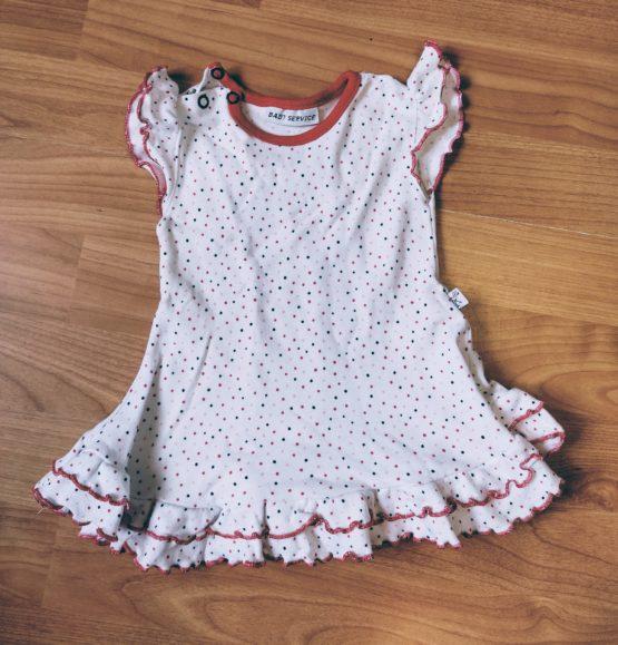 Bavlněné, letní šaty Baby Service