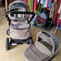 Dvojkombinace kočárku Baby Desing Lupo Comfort