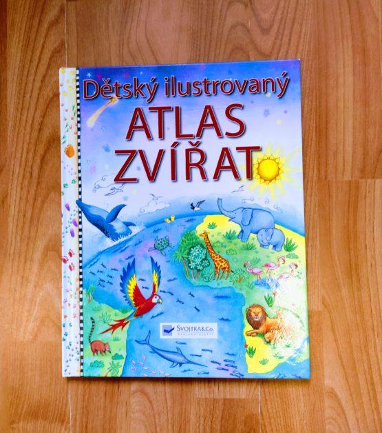 Kniha – Dětský ilustrovaný Atlas zvířat