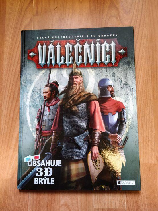Kniha – Velká encyklopedie s3D obrázky – Válečníci