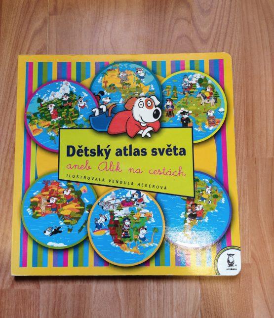 Kniha – Dětský atlas světa aneb Alík na cestách