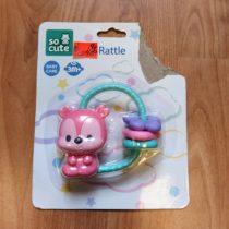 Chrastítko So Cute Rattle – Méďa